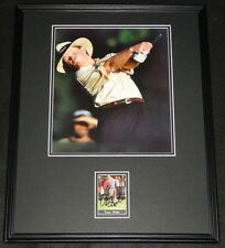 Tom Kite Signed Framed 16x20 Poster Photo Display