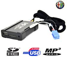 BOÎTIER USB AUXILIAIRE MP3 POUR AUTORADIOS D'ORIGINE ALFA ROMEO À PARTIR DE 2009