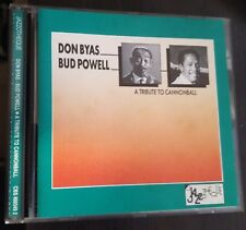 Don Byas / Bud Powell ‎– A Tribute To Cannonball CD 1990 CBS ‎– CBS 466549 2