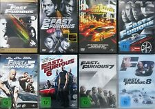 Fast & Furious 1-8 The Fast and The Furious Tokyo Drift Neues Model DVD 8x