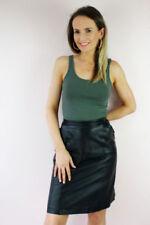 Vêtements vintage en cuir pour femme pour tous les jours