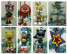 Sonic Christmas Ornament 7 Piece Set Featuring Tails, Knuckles, Sonic Amy, and