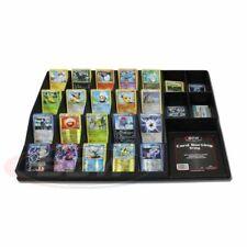 Large Black Plastic Sports & Gaming Trading Card Sorting Tray organizer display