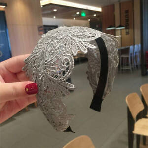 Fashion Women's Wide Headband Lace Hairband Hair Band Accessories Head Wrap