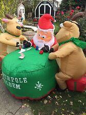 Christmas Holiday Santa Inflatable AirBlown Blow Up Yard Decor