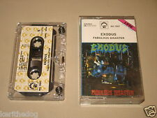 EXODUS - Fabulous Disaster - MC Cassette un/official polish tape 1990