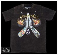 Pray for Hell LA Dink Minute Mirth Skull T-shirt Shiroi Neko Stone Washed SMALL