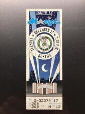 ORLANDO MAGIC BOSTON CELTICS Ticket Stub December 17, 1991 LARRY BIRD