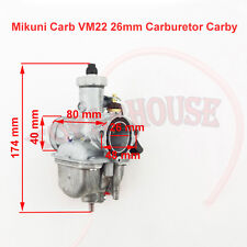 Mikuni Carb VM22 26mm Carburateur Carby Pour 125 140cc Lifan YX Zongshen PitBike