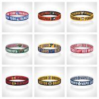 Reversible NHL Teams Bracelet Elastic Stretch Bracelet NHL Wristband