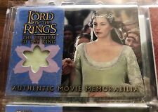 Costume Card Lord of the rings LOTR Arwen coronation dress TOPPS