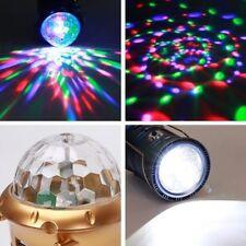 Lámpara linterna disco farol RECARGABLE solar acampada camping 1W usb 6 led 3en1