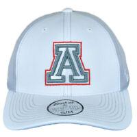 NCAA Zephyr Arizona Wildcats White Gray Flex Fit Stretch Small Medium Hat Cap