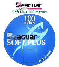 Seaguar SOFT PLUS Fluorocarbon 100 Metres Fly Fishing LEADER Tippet GRAND MAX