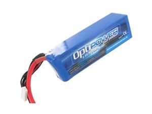 Optipower Ultra 50C Lipo Battery 2700mah, 6S, 10AWG