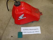 84 1984 HONDA ATC 200s ATC200 ATC200S 185 86 85 PLASTIC GAS FUEL TANK PETCOCK