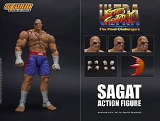 Storm Collectibles Street Fighter Ii Sagat 1/12 Scale Action Figure Usa Seller