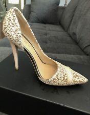 L.A.M.B  Kadie Calf Hair Half d'Orsay Heels - Size 6M, Fits Like 6.5