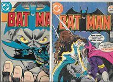 Batman #285 & #289 (1977, DC Comics)
