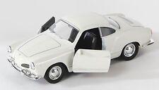 BLITZ VERSAND VW Karmann Ghia Coupe creme Welly Modell Auto 1:34 NEU OVP