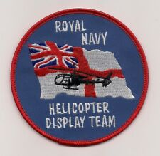 Royal Navy Helicopter Display Team patch