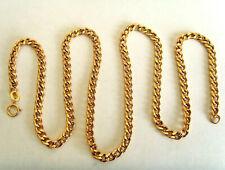 9ct Gold Curb Chain 18.25 Inch Hallmarked 5.6gm Weight