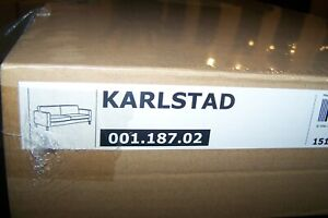 IKEA KARLSTAD Cover set for 3 seat sofa   ,Blekinge white