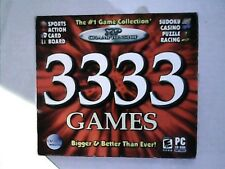 3333 Games XP Championship Sports Action Cards Puzzle and MORE