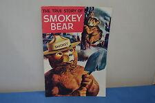 THE TRUE STORY OF SMOKEY THE BEAR ADVERTISING COMIC BOOK VINTAGE ORIGINAL 1960'S
