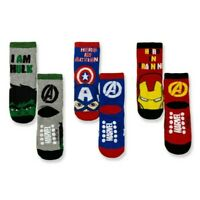 Socks Non-Slip Marvel Avengers Hulk Captain America Iron Man Cotton 3306