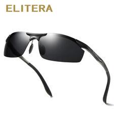 ELITERA Brand Men Aluminum Sunglasses Polarized UV400 Mirror Male Sun Glasses