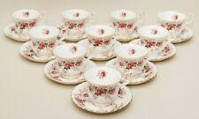 Royal Albert Lavender Rose Fine Bone China Tea Cups & Saucers 10 Sets Vintage