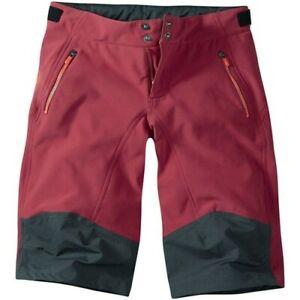 Madison Flo softshell womans/ladies bike, riding, cycling, MTB shorts,Blood Red