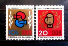 Germany - DDR Sc. 764 & B126 Boxing Championships 1965 -  MNH