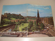 Pitkin Pictorials 1973 City of Edinburgh Scotland Uk history guide