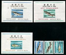 Korea 496-498, MNH, Marine Life Fish. x8306