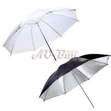 Two umbrella kit-85cm Black Silver Reflector and 85cm white translucent umbrella