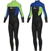 Maddog Kids Boys Childrens Steamer Long Wetsuit KIDS Size 6 - 16