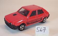 Majorette 1/53 Nr. 239 Fiat Ritmo Abarth 2000 Limousine rot Nr. 3 #567