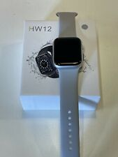 Smart Watch 2021 HW12 Sliver Apple iPhone Android IOS full HD Bluetooth Series 6