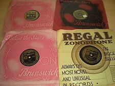 A Collection Of 4 Old 78rpm Records By Milt Herth Trio