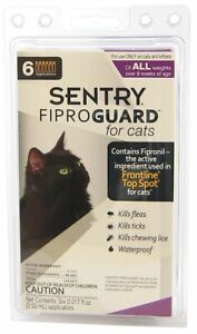 LM Sentry FiproGuard for Cats 6 Doses