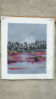 Hand painted Modern Abstract Oil Painting on Canvas  NO framed #D50
