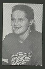 Earl Dutch Reibel Detroit Red Wings J.D. McCarthy Hockey Postcard EX/MT