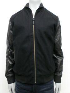 $298 NWT Levi's Wool Blend and Leather Varsity Jacket - XL - HM360919