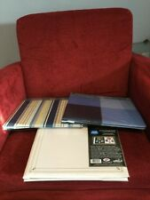 Scrapbooking albums set of 3 all new holds 12 by 12 paper