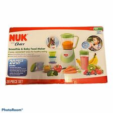 Open Box  NUK With Oster Smoothie and Baby Food Maker 20 Piece Set FAST SHIP