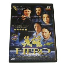 Hero movie Dvd Jet Li Donnie Yen Ziyi Zhang 4+ star martial arts action classic!