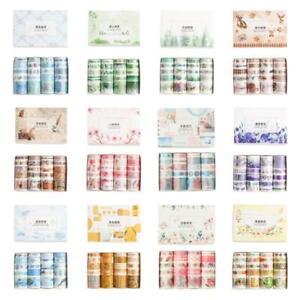 20 Rolls Washi Masking Tape Set Decorative Craft Tape for Scrapbooking Designs