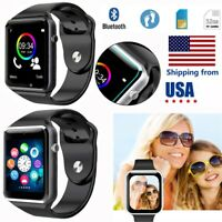 Bluetooth Smart Wrist Watch Phone Mate Remote Camera For Android Samsung HTC LG